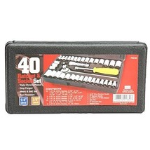 New PSO40 Drive Ratchet and Socket Set 1/4-Inch and 3/8-Inch Drive, 40-P... - $17.97 CAD