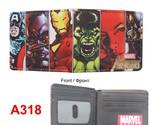 avengers comic wallets billeteras cards money photo bolso men wallets woman short thumb155 crop