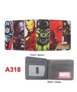 the avengers comic wallets billeteras cards money photo bolso men wallets woman short thumbtall