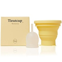 Tieut Cup Pack of Compressible Container and Period Cup Large Size 42ml ... - $51.68