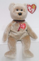 "1999 TY Beanie Babies ""Signature"" Bear : PE Pellets : China Made {3159} - $4.94"