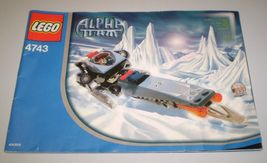 Used Lego Alpha Team Instruction Book Only # 4743 Ice Blade No Legos inc... - $2.50