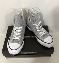 Converse NWB Sparkle Knit Hightop Sneaker All Star Size 5.5 - $28.71