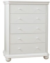 Sorelle 9910-W White Vista Elite 5 Drawer Chest-RARE VINTAGE-SHIPS N 24 ... - $681.99