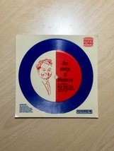 Vintage 1969 Paper Record: The Pledge of Allegiance/Red Skelton from Burger King