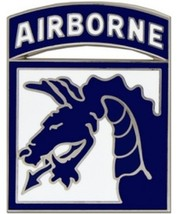 US Army 18th Airborne Division Combat Service Badge (2 inch) - $14.84