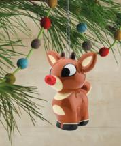 Hallmark Renna Il Red-Nosed Renna Decoupage Natale Ornamento Nuovo W Etichetta image 3