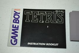 Tetris (Nintendo Game Boy, 1989) TESTED GB NGB w Manual image 5