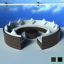 vidaXL Patio Outdoor Rattan Wicker Set Garden Sofa Lounge Day Bed Table ... - $792.99+