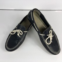 Cole Haan Mens Brown Leather Driving Moccasin Boat Shoe Loafer SZ 9.5M - $44.95