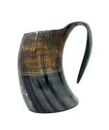 Game of thrones LINE symbol Lannister viking drinking horn mug groomsman... - $29.85