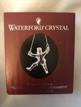 Waterford Crystal 12 Days of Christmas 10 Ten Lords Leaping 2004 128566 - $52.46