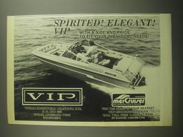 1979 VIP Vivian Industrial Plastics Boat Ad - Spirited! Elegant! VIP - $14.99