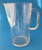 IKEA Clear Glass Pitcher Ribbed Svepa 10288 1 Qt Italy Discontinued Italy - $19.95
