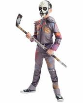 NEW Casey Jones Teenage Mutant Ninja Turtles Costume Halloween Boys Large 10-12 - $19.75
