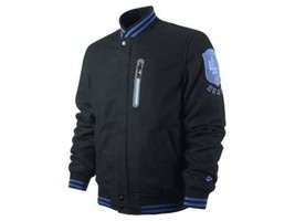 NIKE SPORTSWEAR NSW WOOL TC BRASIL CBF DESTROYER JACKET L LG $350 439340 010 NEW - $135.56