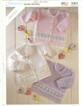 Baby Cardigans & Pullover Crochet Patterns Sirdar  - $6.50