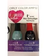 ORLY Color Amp'd Nail color polish ART WALKS Flexible Sealcoat No-Smudge... - $18.00