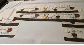 2x Coffee Shop 3 Piece Kitchen Curtain Sets  - $16.34