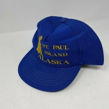 Vintage St Paul Island Alaska Snapback Hat - $9.89