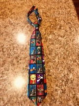 LOONEY TUNES Stamp Collection Men's Tie Warner Bros. #53 - $3.91