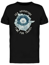 Sea Adventures Time To Travel Men's Tee -Image by Shutterstock - $359,52 MXN+