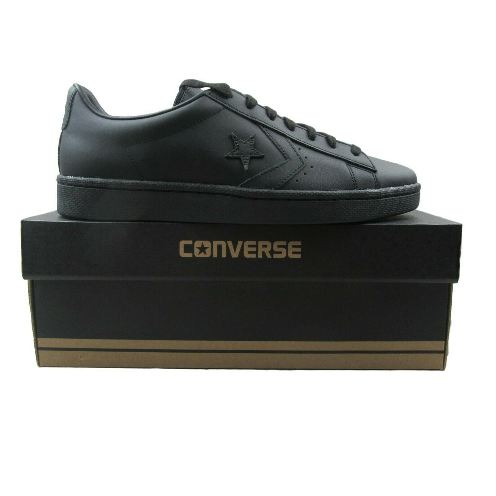 e59b3d9fa8f64 Converse Pro Leather 76 OX Black Leather Low and 50 similar items