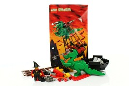 Lego Castle Fright Knights Set 6037 Witch's Windship 100% complete + ins... - $34.64