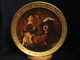 SELF-PORTRAIT With Saskia Collector Plate Rembrandt Gallery Of Masters #2 Gorham - $9.99