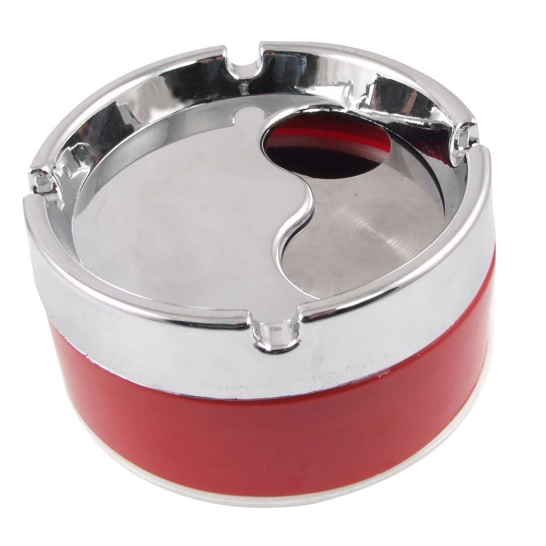 Cigarette Ash Holder Removable Lid Ashtray AE9