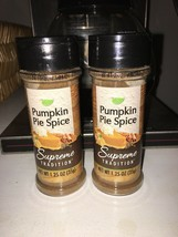 New Lot Of 2 Supreme Tradition Pumpkin Pie Spice Seasoning Both 1.25 Oz Oatmeal - $14.80