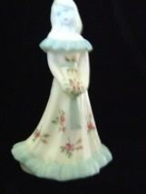 Fenton Art Glass White Bridesmaid Doll Figurine limited edition piece - $164.47