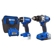 Kobalt 24V MAX Brushless 2 Tool Combo Kit #0672827 - $258.65