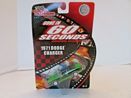 RACING CHAMPIONS GONE IN 60 SECONDS 1971 CHARGER  DIECAST CAR 1/64 NEW L18 - $14.65