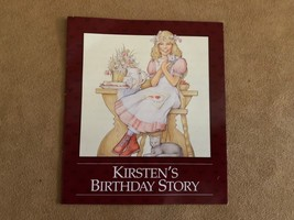 Kirsten's birthday Story pamphlet booklet Pleasant Company American Girl... - $16.50