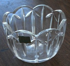 Lovely Mikasa Crystal Bowl, Escalloped Rim, Germany, EXCELLENT CONDITION - $19.79