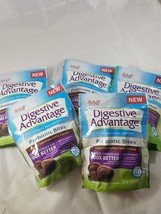 Schiff Digestive Advantage Probiotic Bites Dark Chocolate 5 Pk exp 8/2018 - $19.62