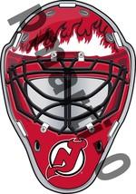 New Jersey Devils Front Goalie Mask Vinyl Decal / Sticker 10 Sizes!!! - $3.99+