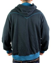 NEW NWT LEVI'S MEN'S PREMIUM CLASSIC COTTON HOODIE JACKET SWEATER GRAPHIC BLACK image 2