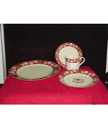 CHARLTON HALL KOBE CLASSIC TRADITIONS JAPAN Place setting 4 Piece Christ... - $34.65