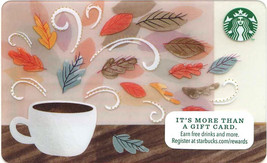 Starbucks 2014 Burst Of Fall Collectible Gift Card New No Value - $1.99