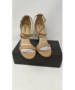 NWOT in Box Heels Charm Women's Open Toe Stiletto Ankle Strap High Heel ... - $32.66