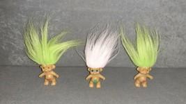 "Troll Doll: 2"" Lot of 3 - $10.00"