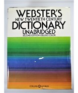 Websters New Twentieth Century Dictionary Second Edition 1975 - 2129 pages! - $34.64