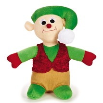 Large Dog Toy, Zanies Holiday Elf Tough Squeaky Cute Stuffed Dog Chew Toys - $20.99
