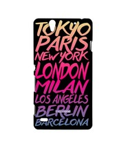 Fashion Cities - Sublime Case for Sony Xperia C4 - $23.95