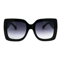 Womens Oversized Fashion Sunglasses Stylish Big Square Frame UV 400 - $11.95