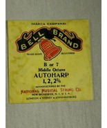 Bell brand AutoHarp Strings B or 7 middle octave 1, 2, 2 3/4 (a12-13) - $14.85