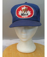 Vintage Patched Trucke Hat - All Mesh Mack Trucks by K Brand - Adult Sna... - $49.00