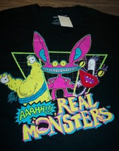 VINTAGE STYLE AAAHH!!! REAL MONSTERS Nickelodeon T-Shirt SMALL NEW w/ TAG - $19.80